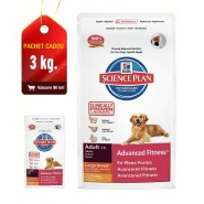 Hill's SP Canine Adult Advanced Fitness Large Breed Chicken 12kg + 3kg CADOU